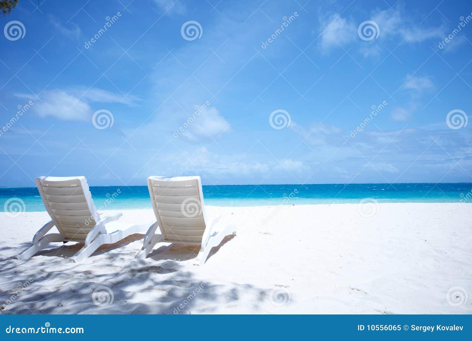 Tropical Beach Chairs Lounge Chairs Tropical...