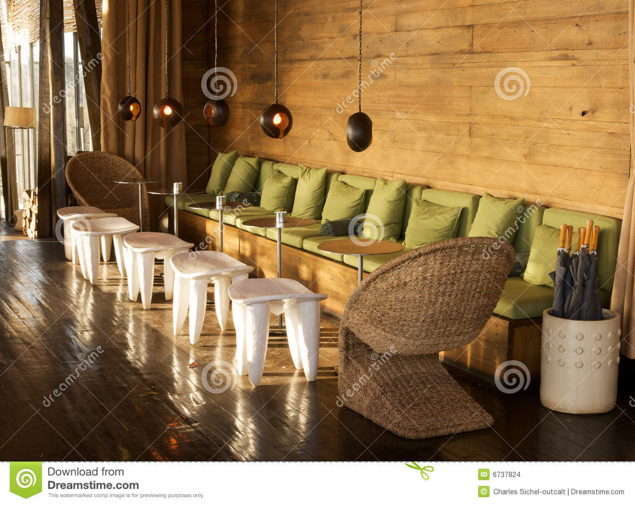 Lounge Interiors Stock Images Image 6737824