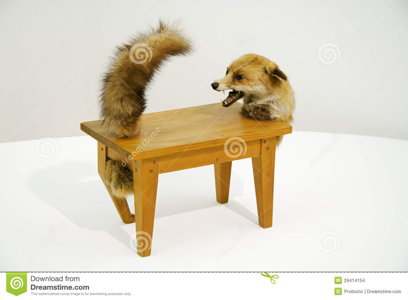 Loup table editorial stock image image 29414154 - Victor brauner loup table ...