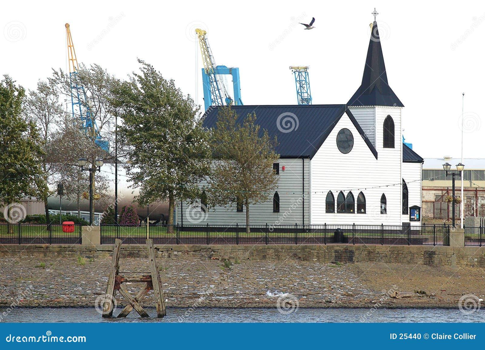Louro norueguês de Cardiff da igreja