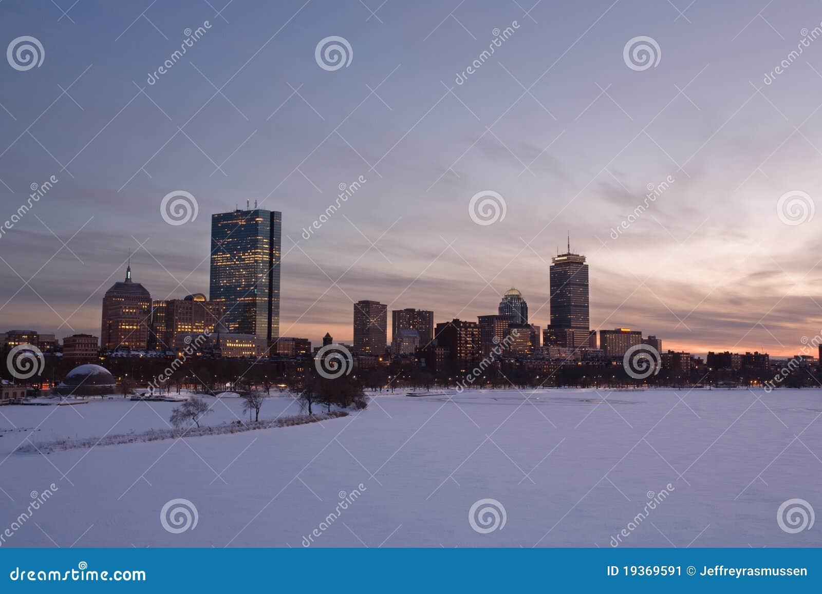 Louro traseiro de Boston na baixa