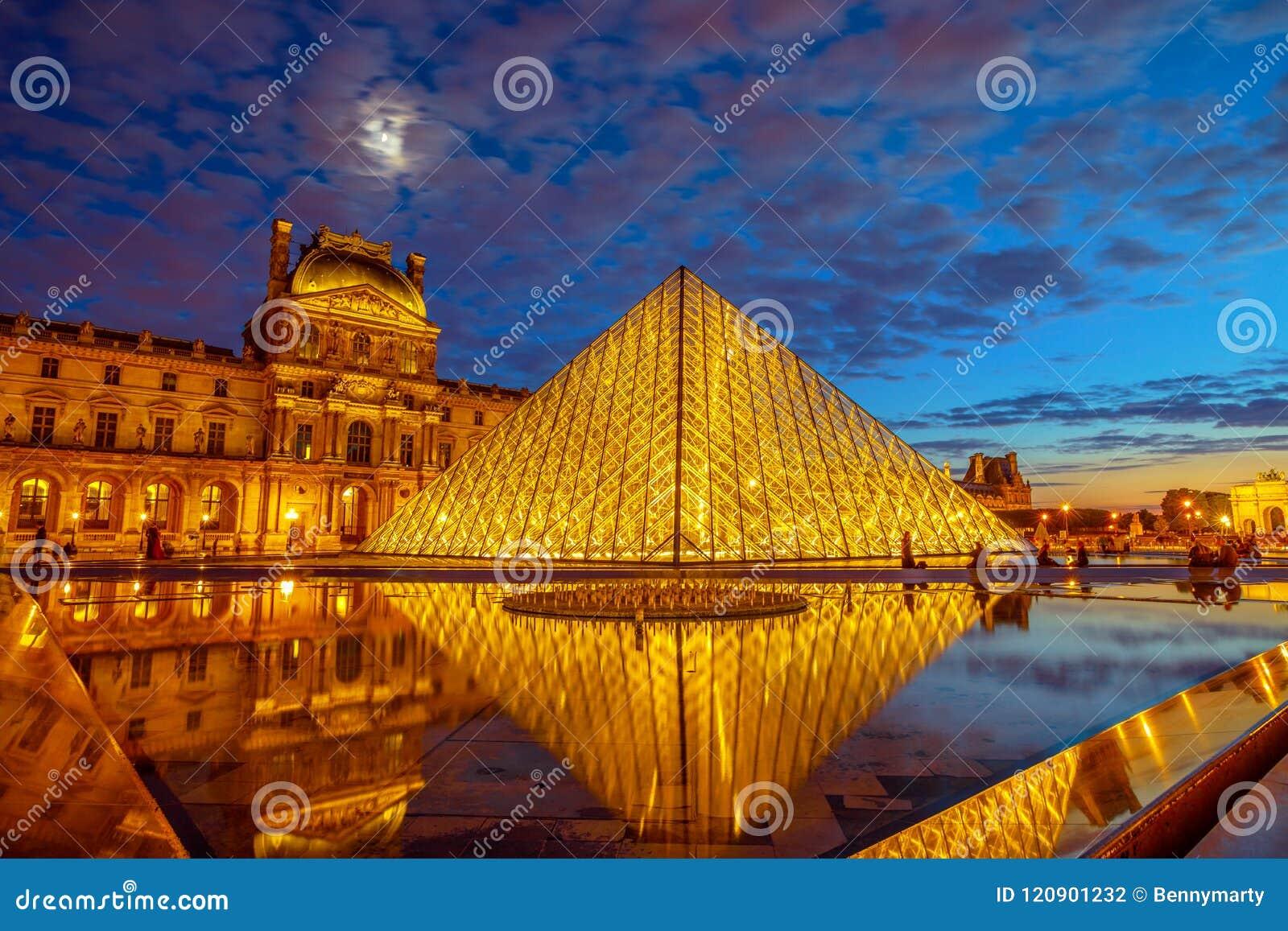 Louvre-Glas-Pyramide