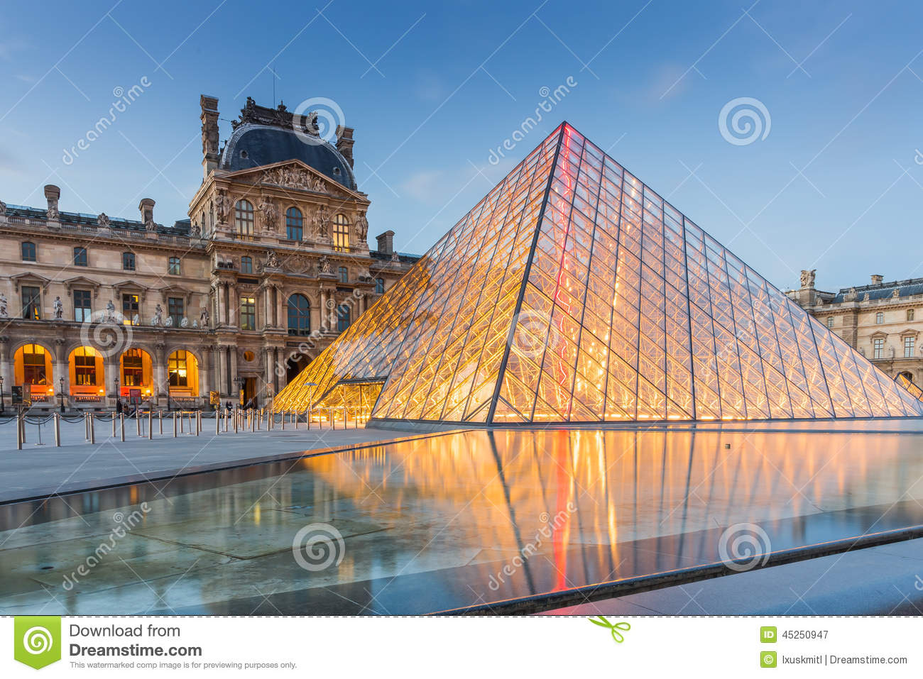 Louvre Museum In Paris France Editorial Photography Image - Is paris in france