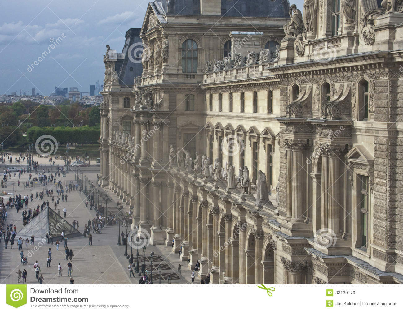 Louvre museum editorial stock image image 33139179 - Louvre architekt ...