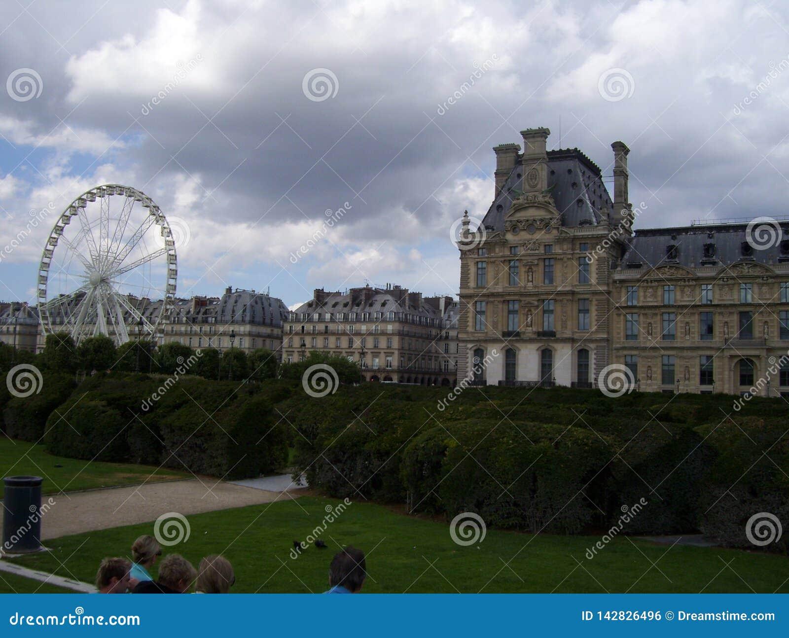 Louvre Muzealny muzeum w Francja