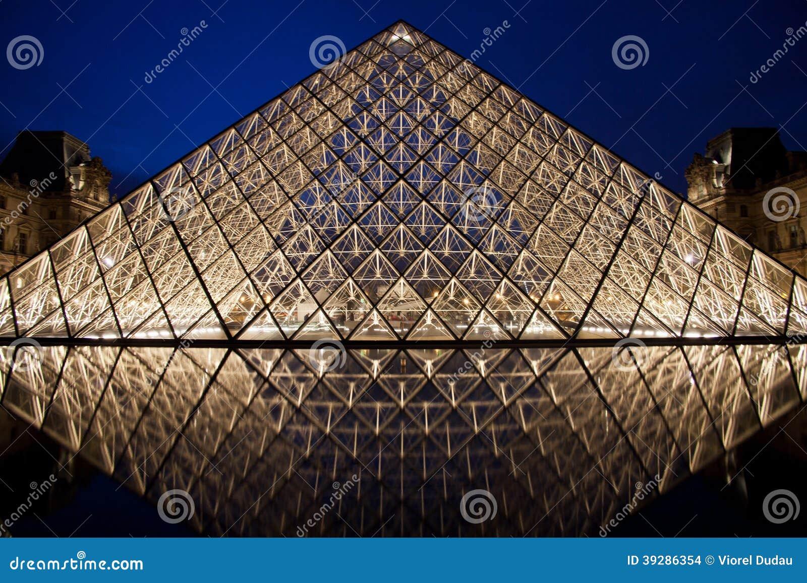 Louvre ostrosłup
