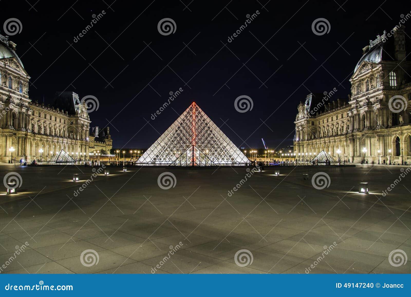 the louvre editorial image image of travel paris eiffel 49147240