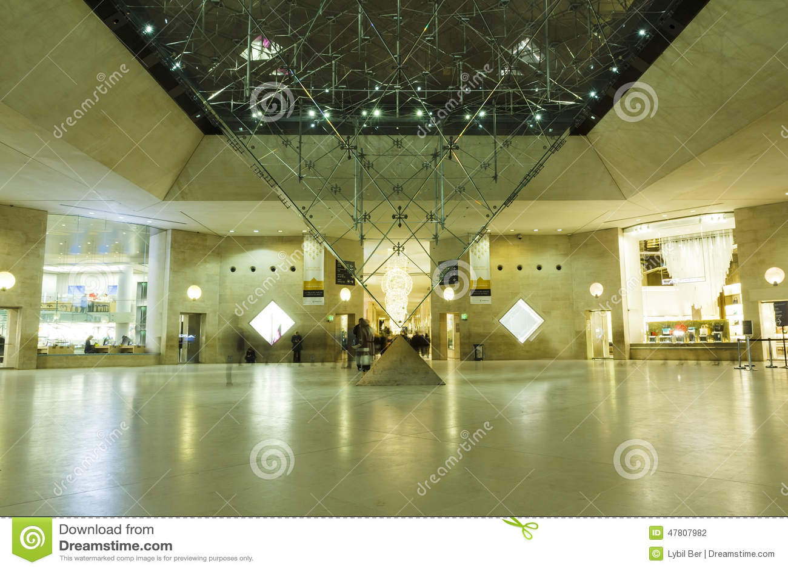 Louvre zakupy Muzealny centrum handlowe