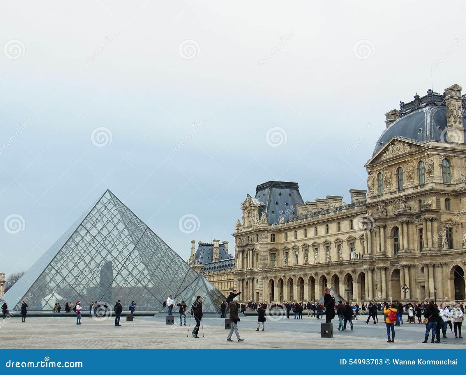 Louvremuseum, elegant, Paris, Frankreich, Europa, Eingang,