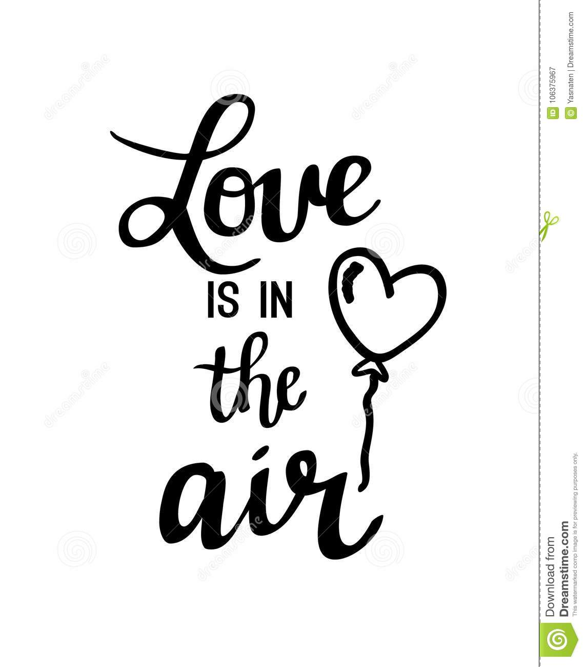 Love Is in the Air Clip Art