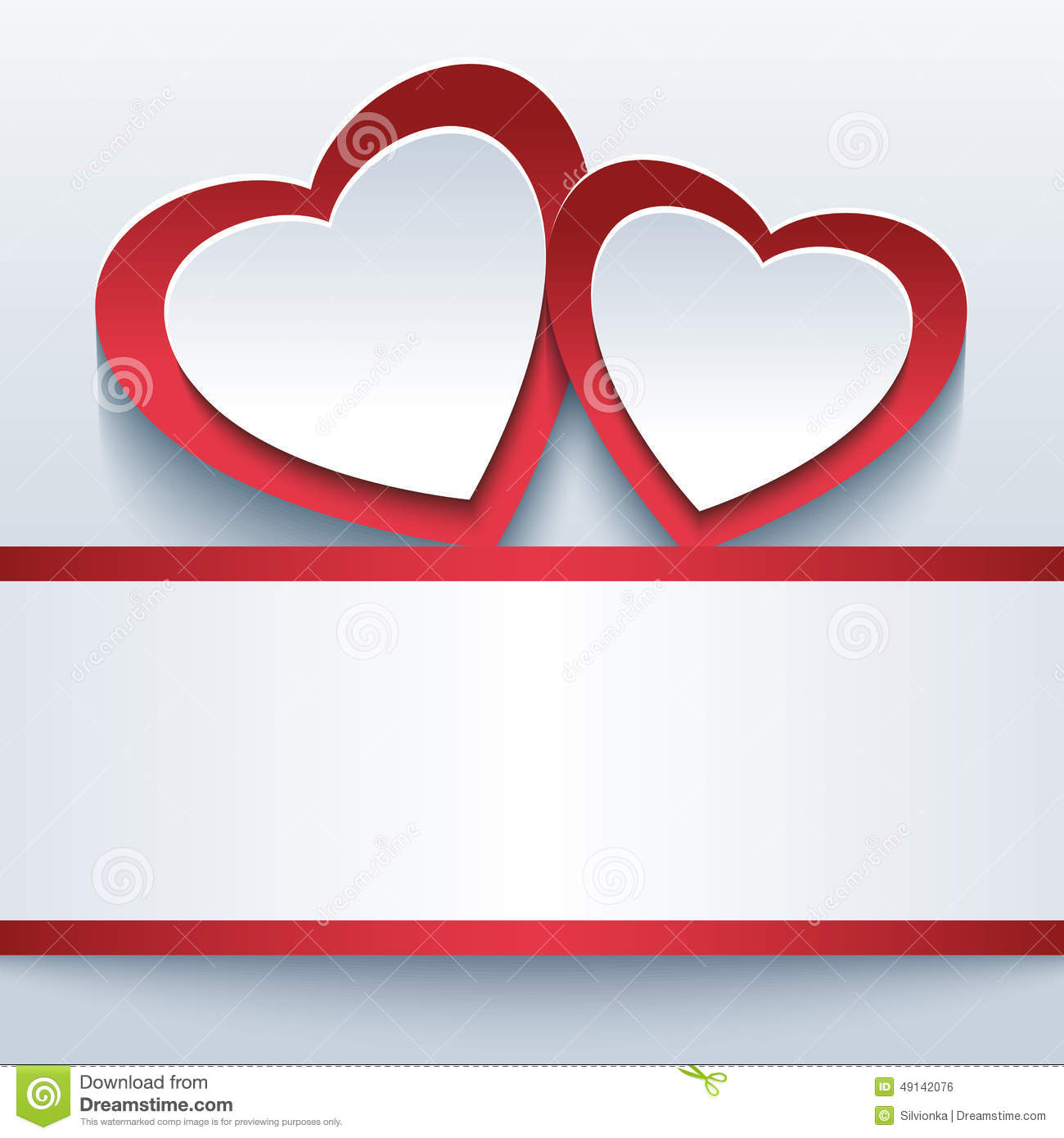 two hearts joined two hearts joined