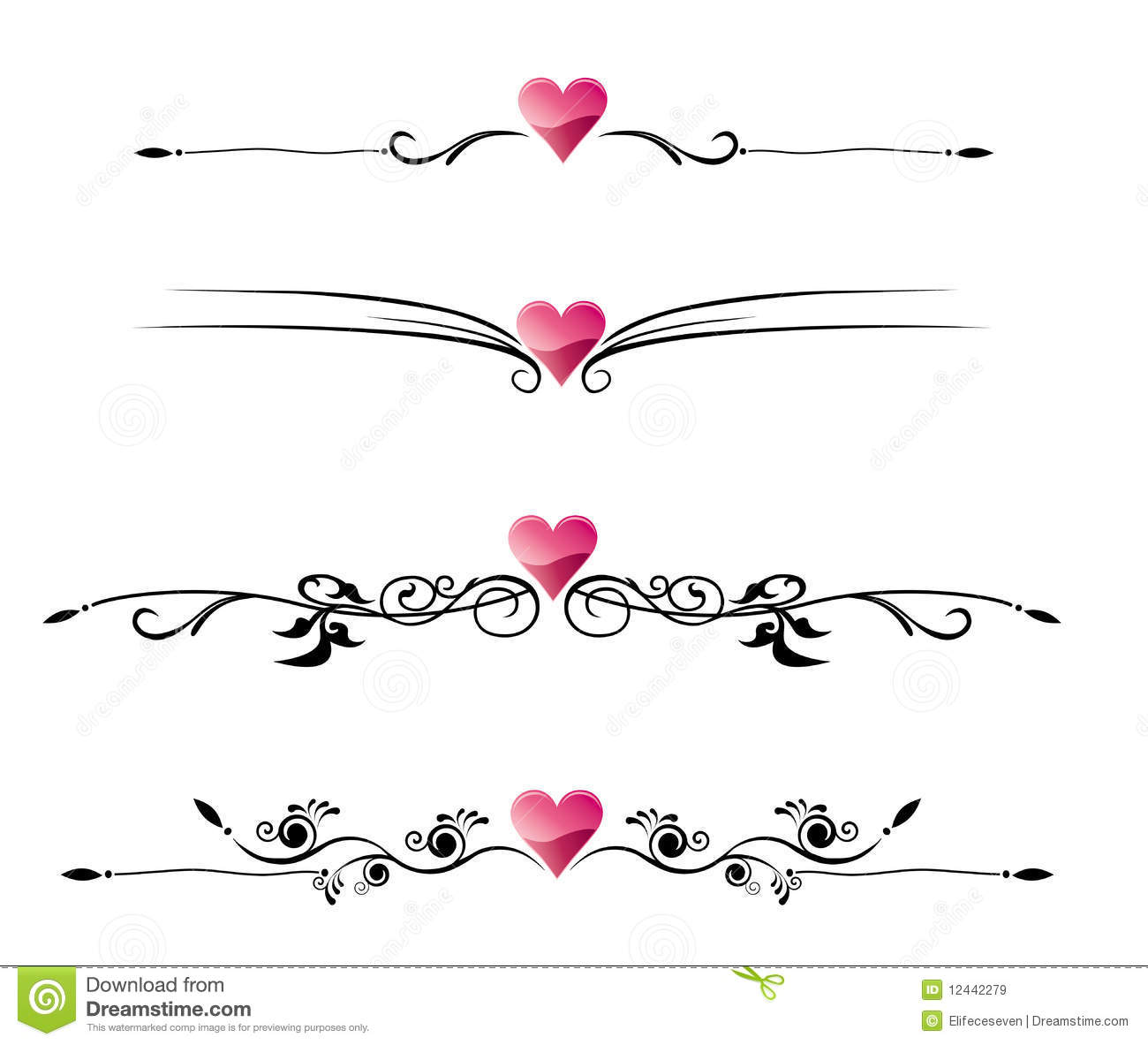 Free Clipart Heart Wedding