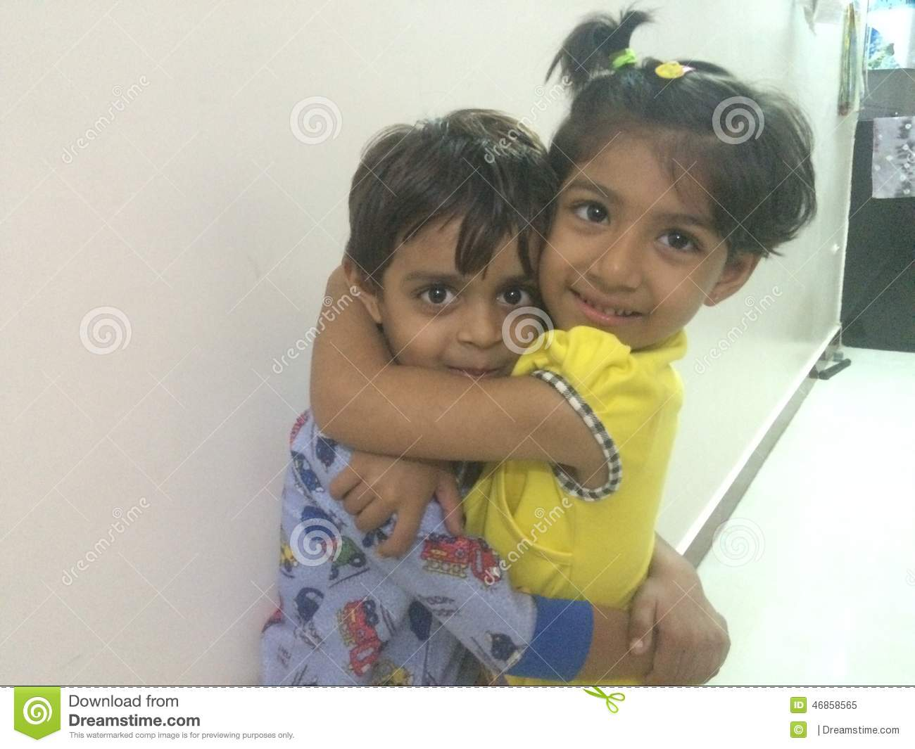 Love Of Brother Sister Editorial Image Image Of Indian 46858565