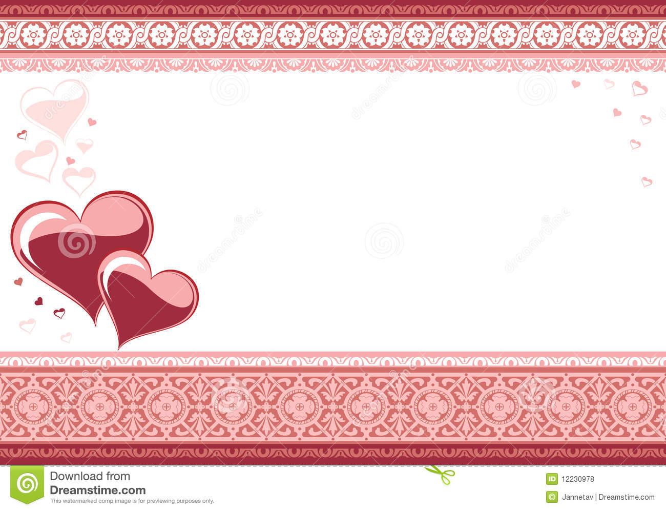 Love Card The Valentine S Day Royalty Free Stock Photos