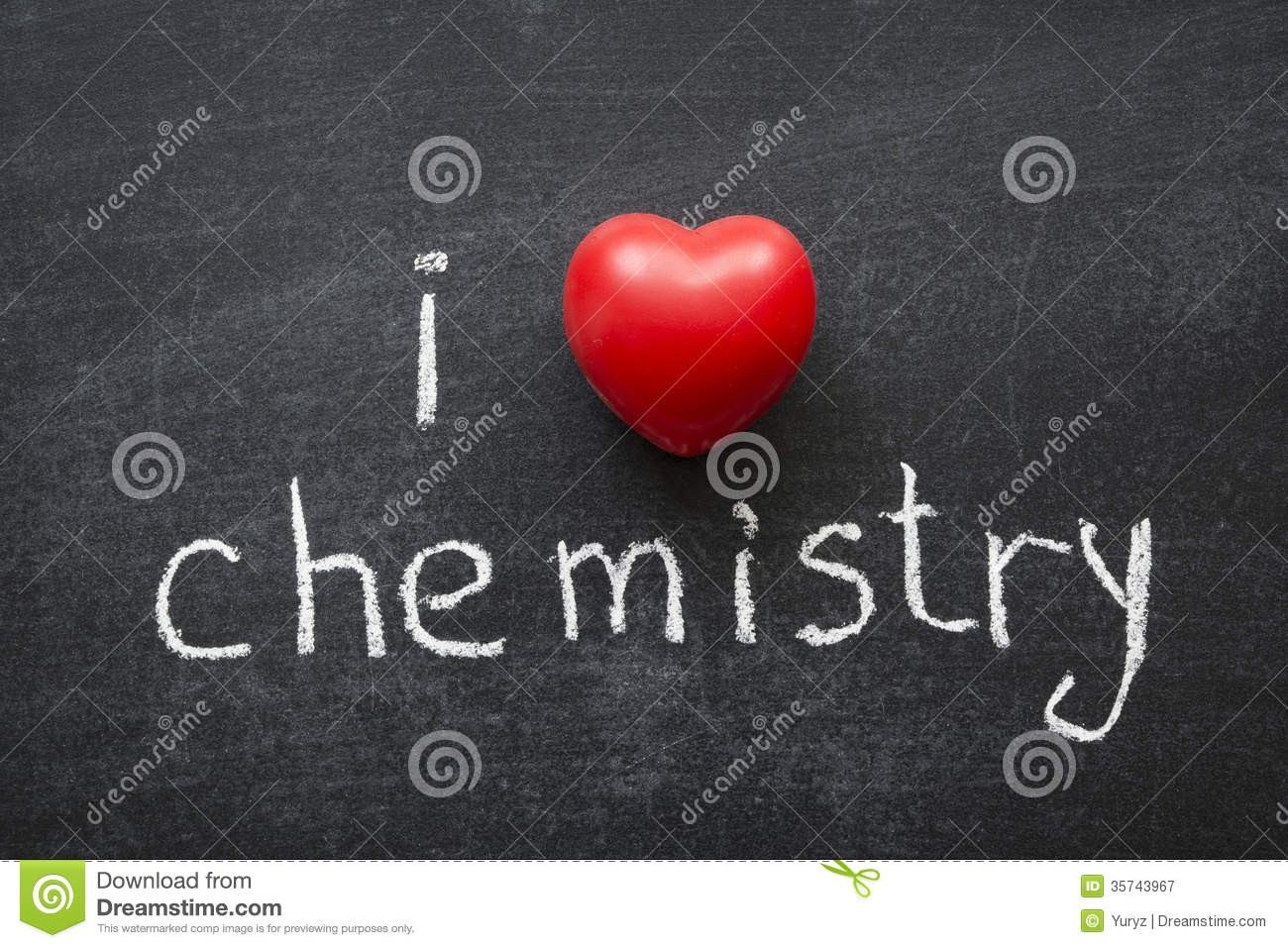 Love Chemistry Royalty Free Stock Photography - Image: 35743967
