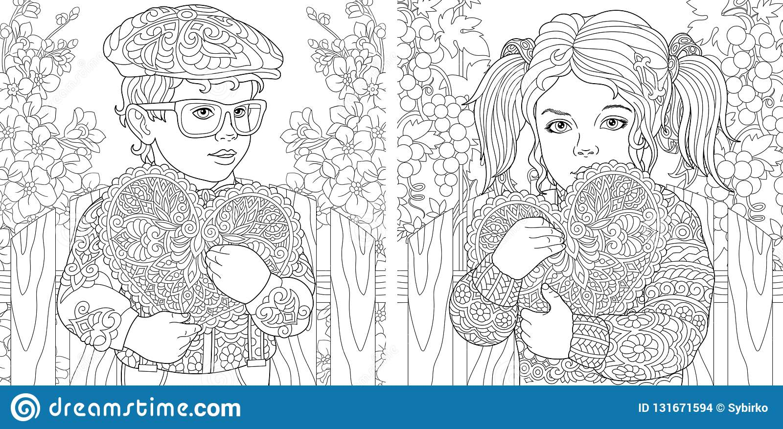 7 Free Printable Valentine's Day Coloring Pages | Parents | 877x1600