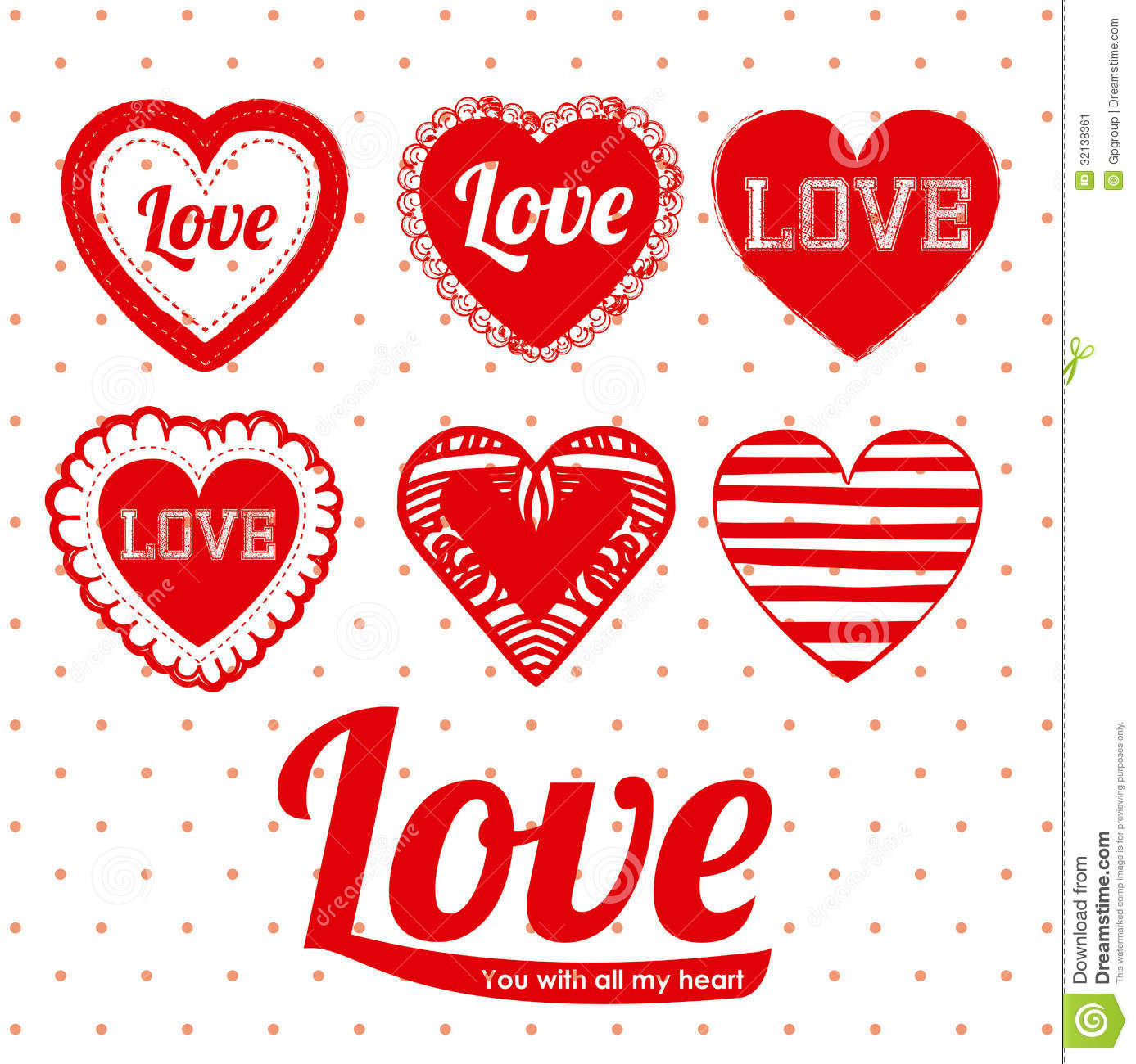Love design stock image image 32138361 for Love in design
