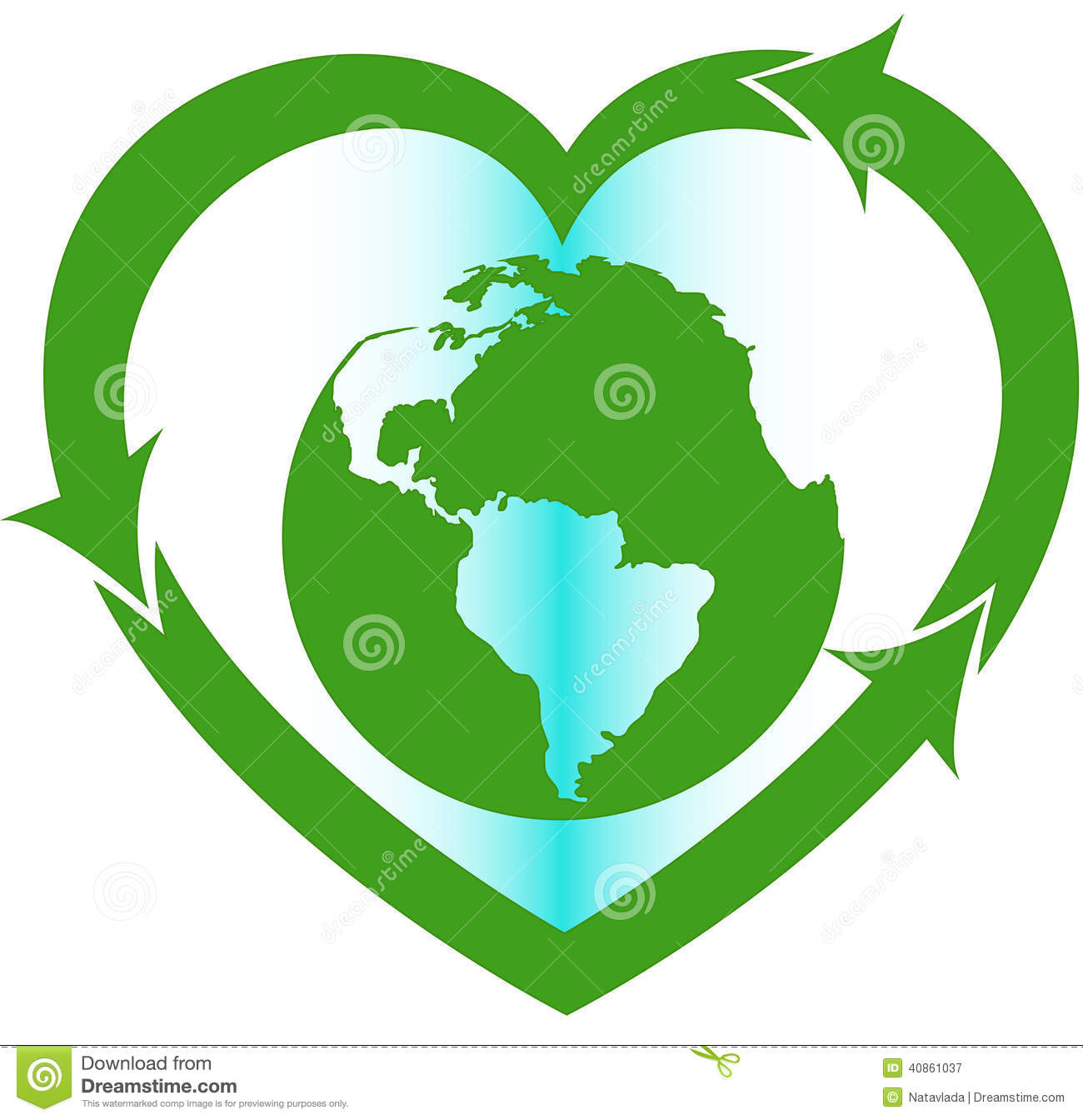 Love Earth Eco Oriented Sign Stock Photo - Image: 40861037