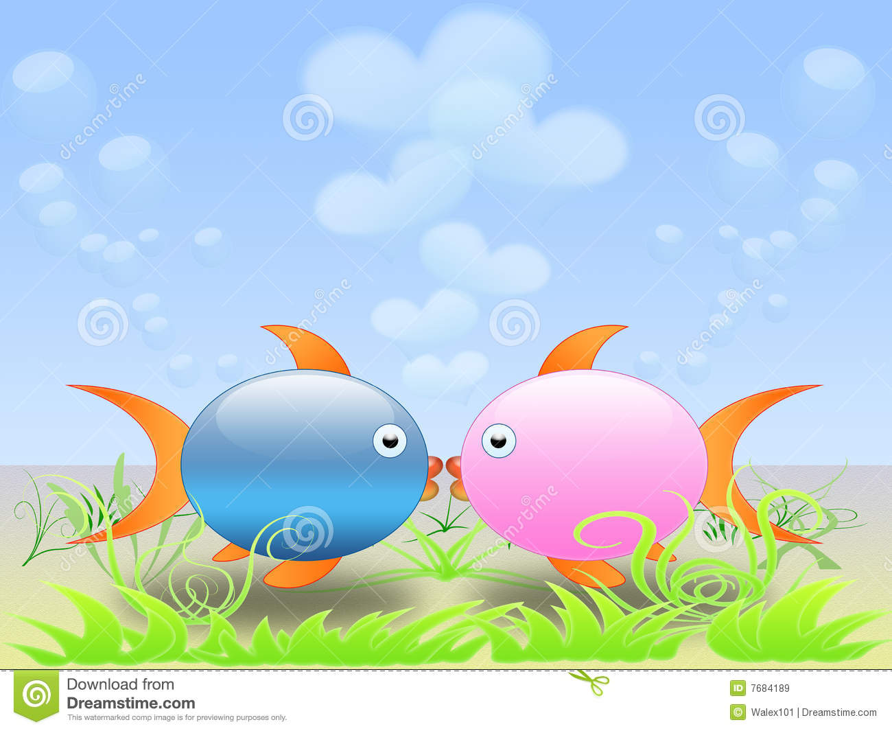 Love fish 01 royalty free stock images image 7684189 for I love the fishes