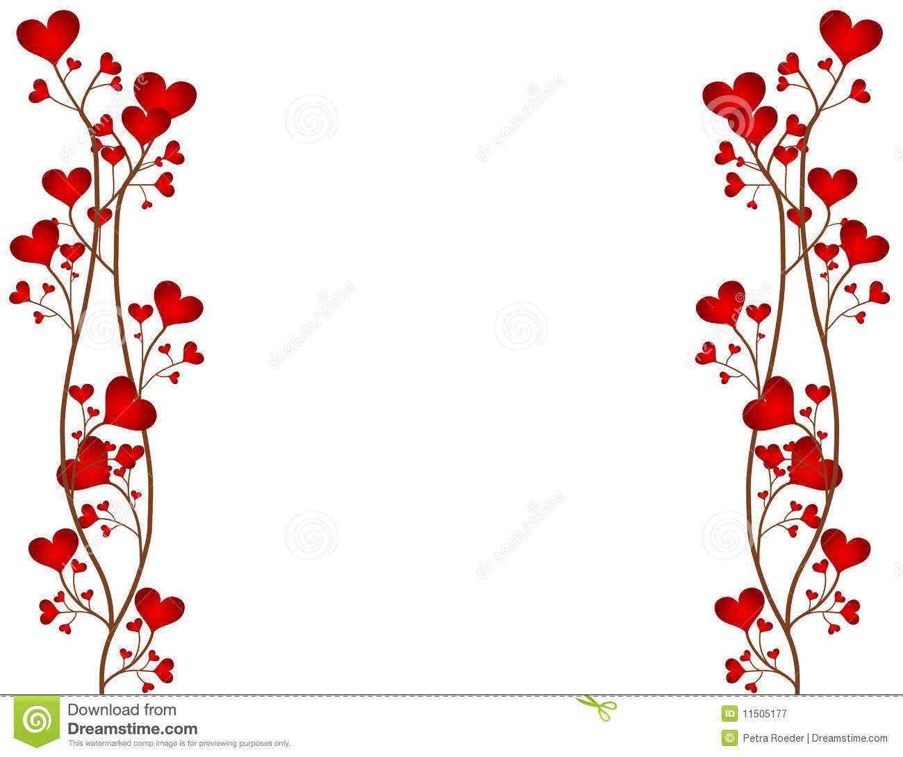 Love Flower Frame Royalty Free Stock Photography - Image: 11505177