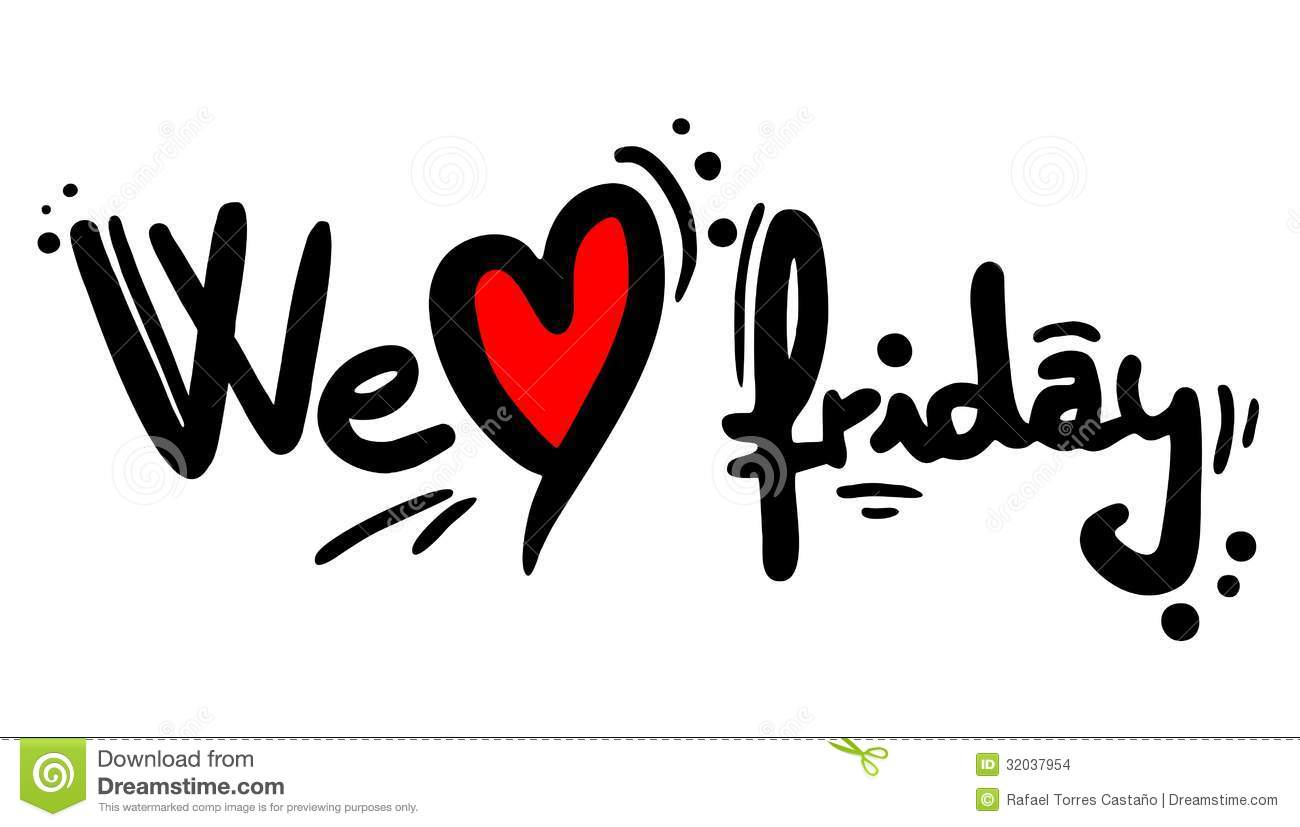 We Love Friday Stock Images - Image: 32037954