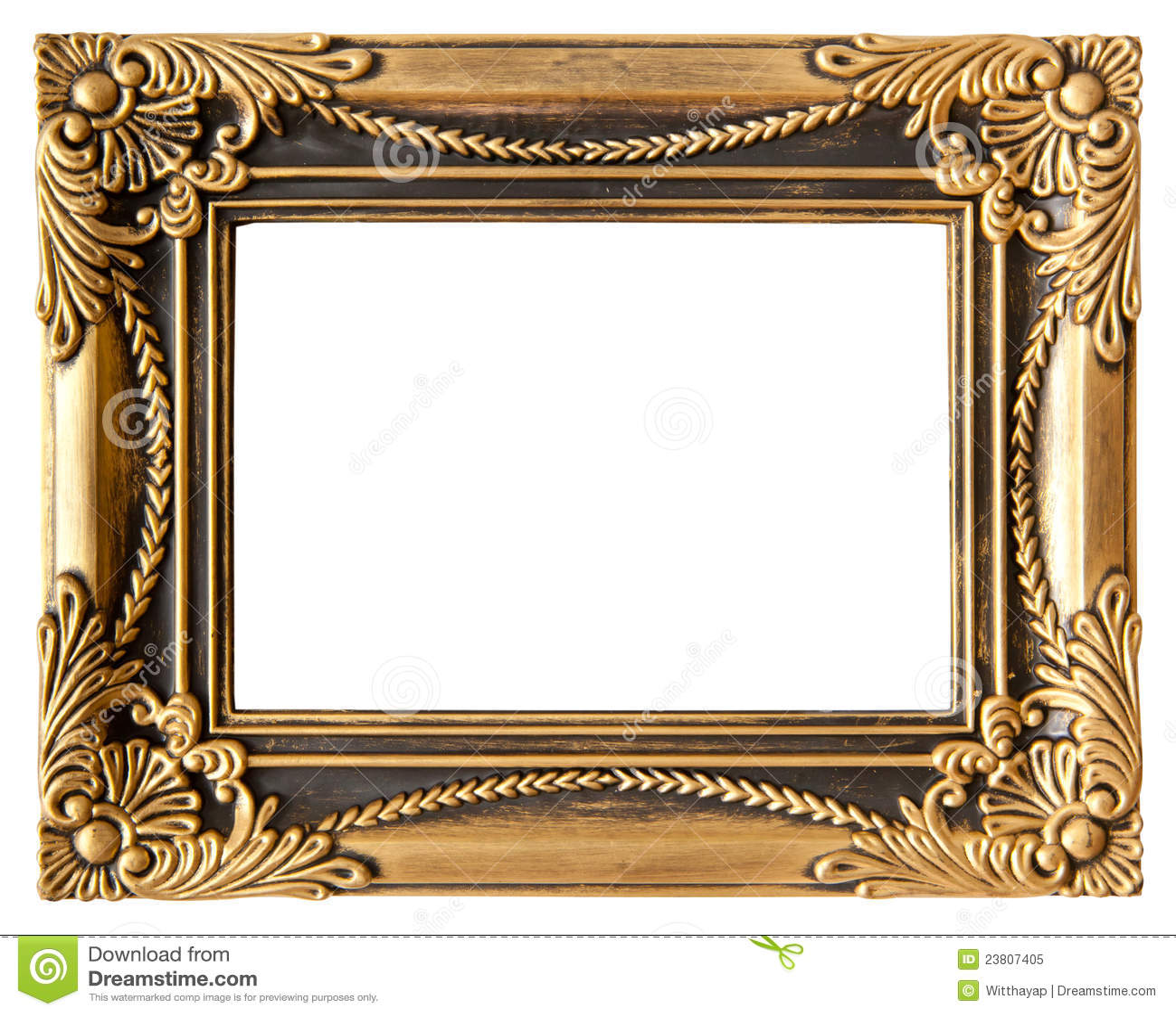 Love Gold Frame Stock Image Image Of Elegance Frame