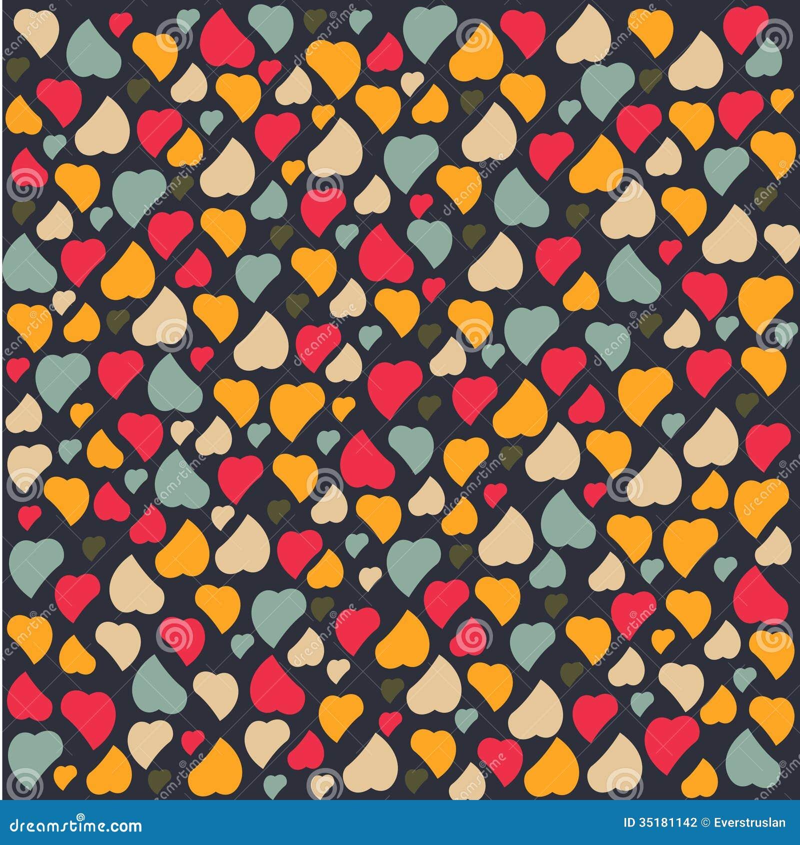 Love Heart Background Pattern