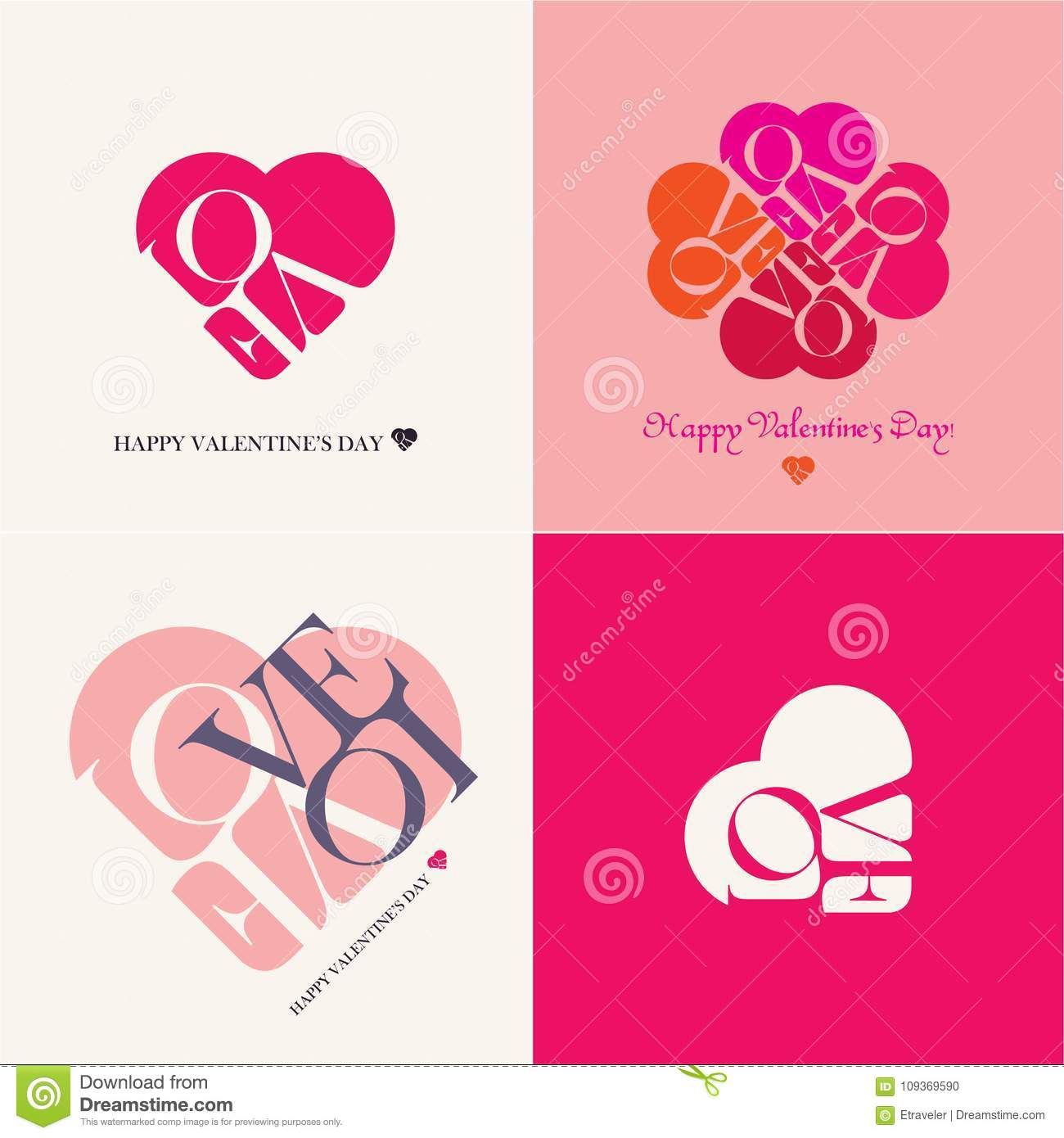 Love Heart Happy Valentines Day Cards Valentine Day Love Beautiful