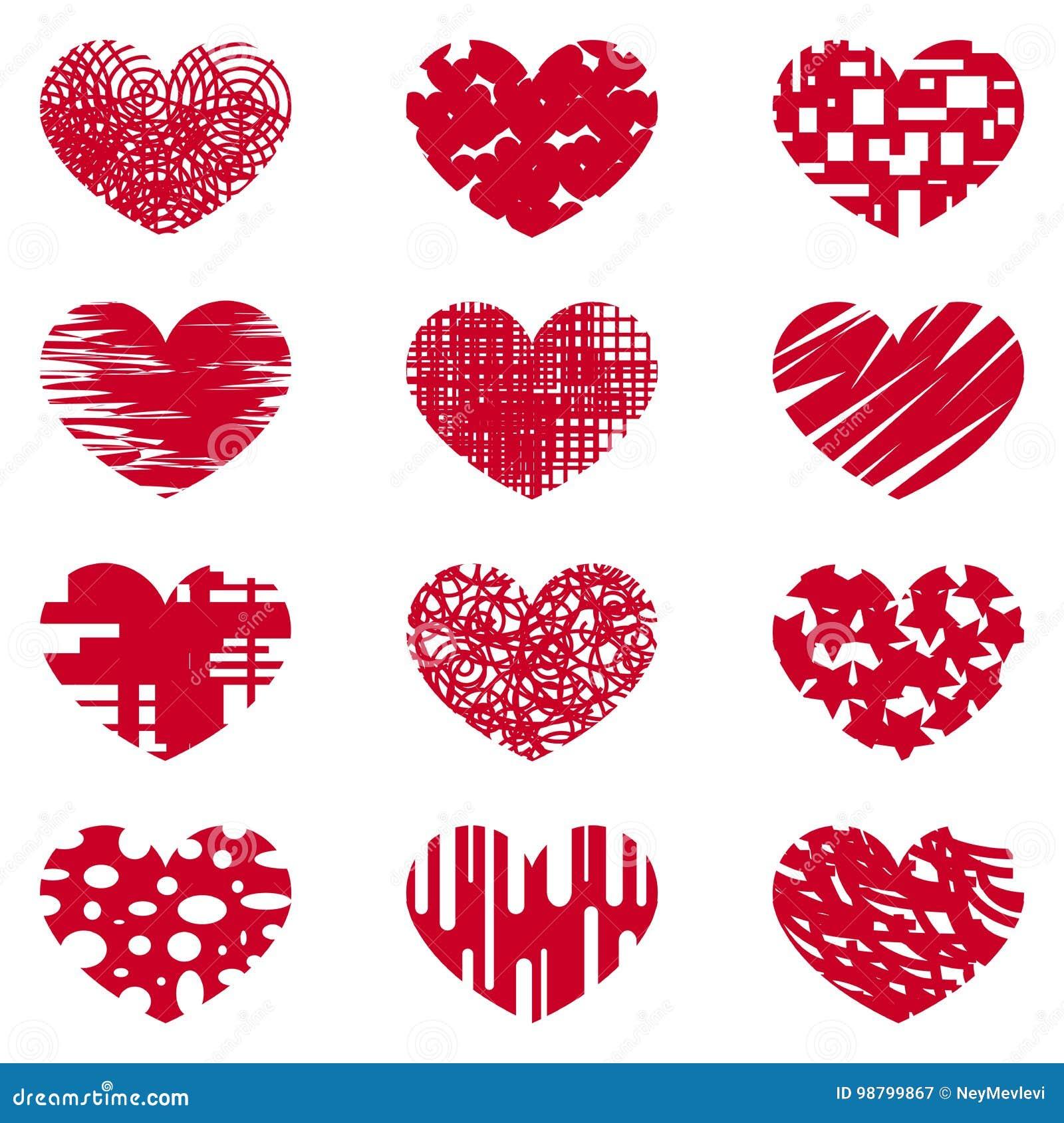 Love Heart Love Affection Symbol Special Logo Stock Vector