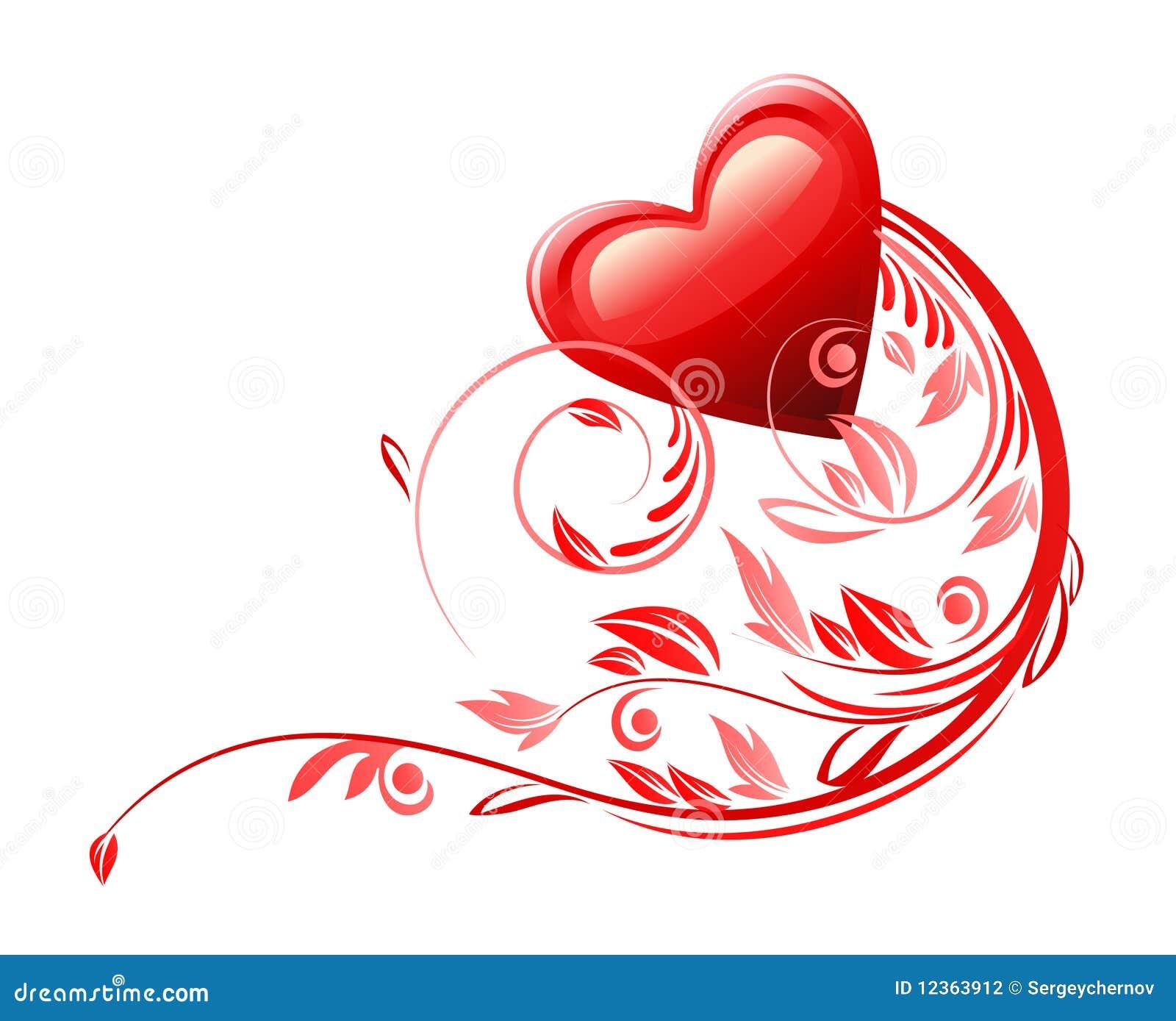 Love heart symbol stock illustration illustration of flourish love heart symbol flourish icon buycottarizona Images