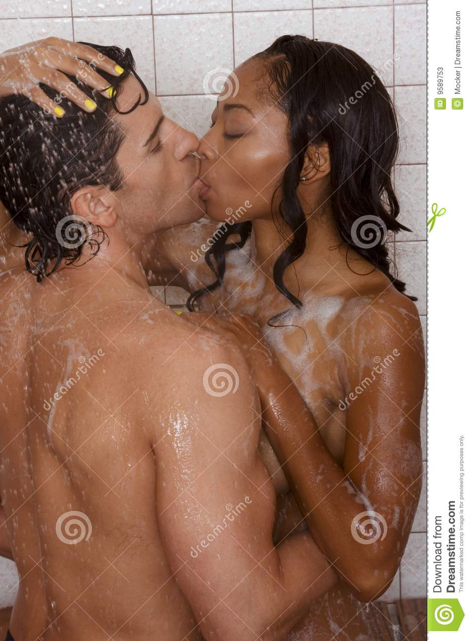 from Avery naked couples in the shower kissing
