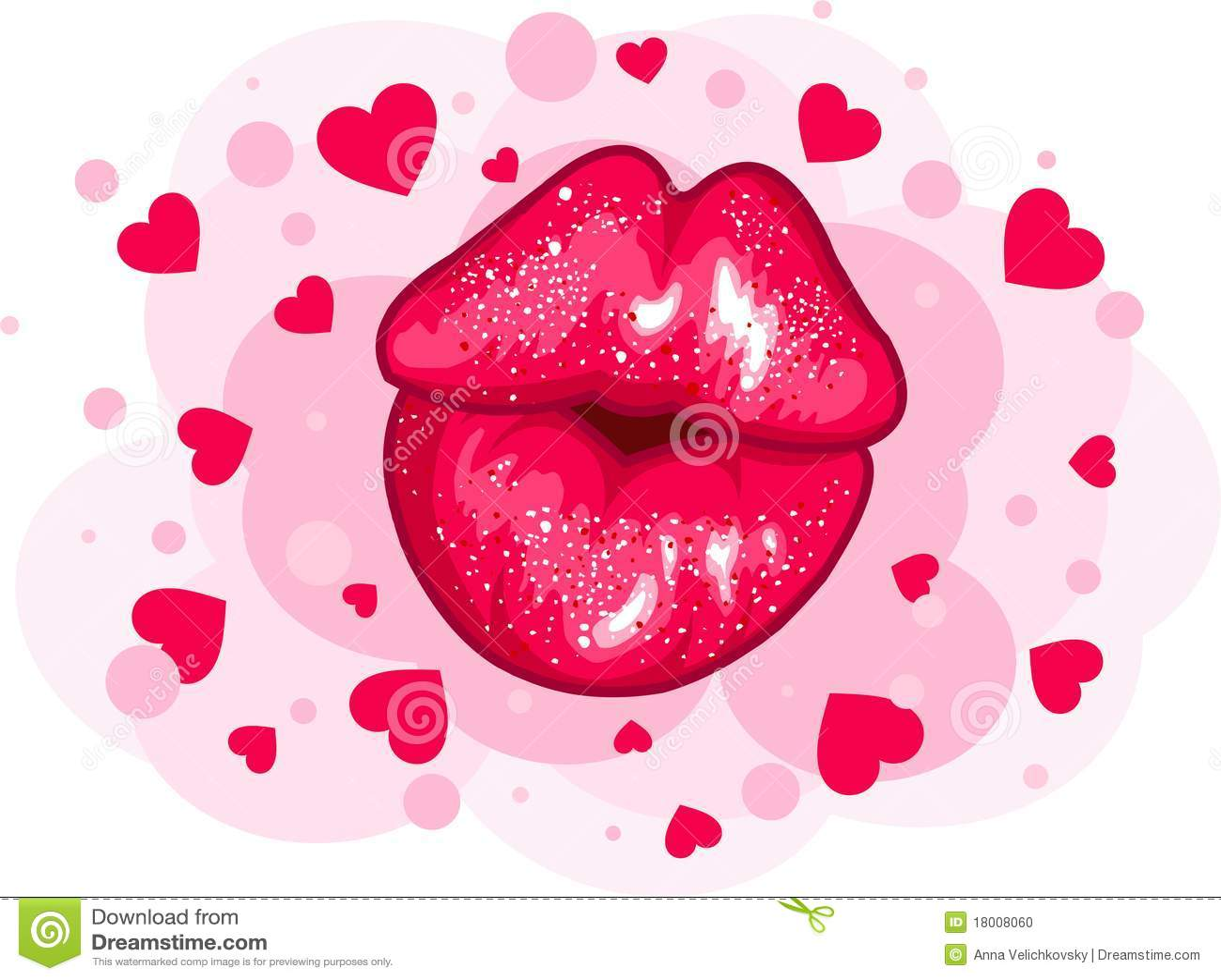 Love kiss design stock photo image 18008060 for I love to design