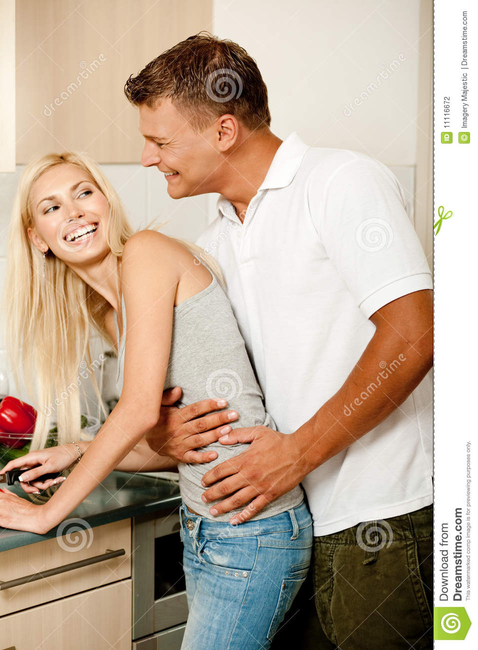 10 Kitchen And Home Decor Items Every 20 Something Needs: Love In The Kitchen Stock Photography