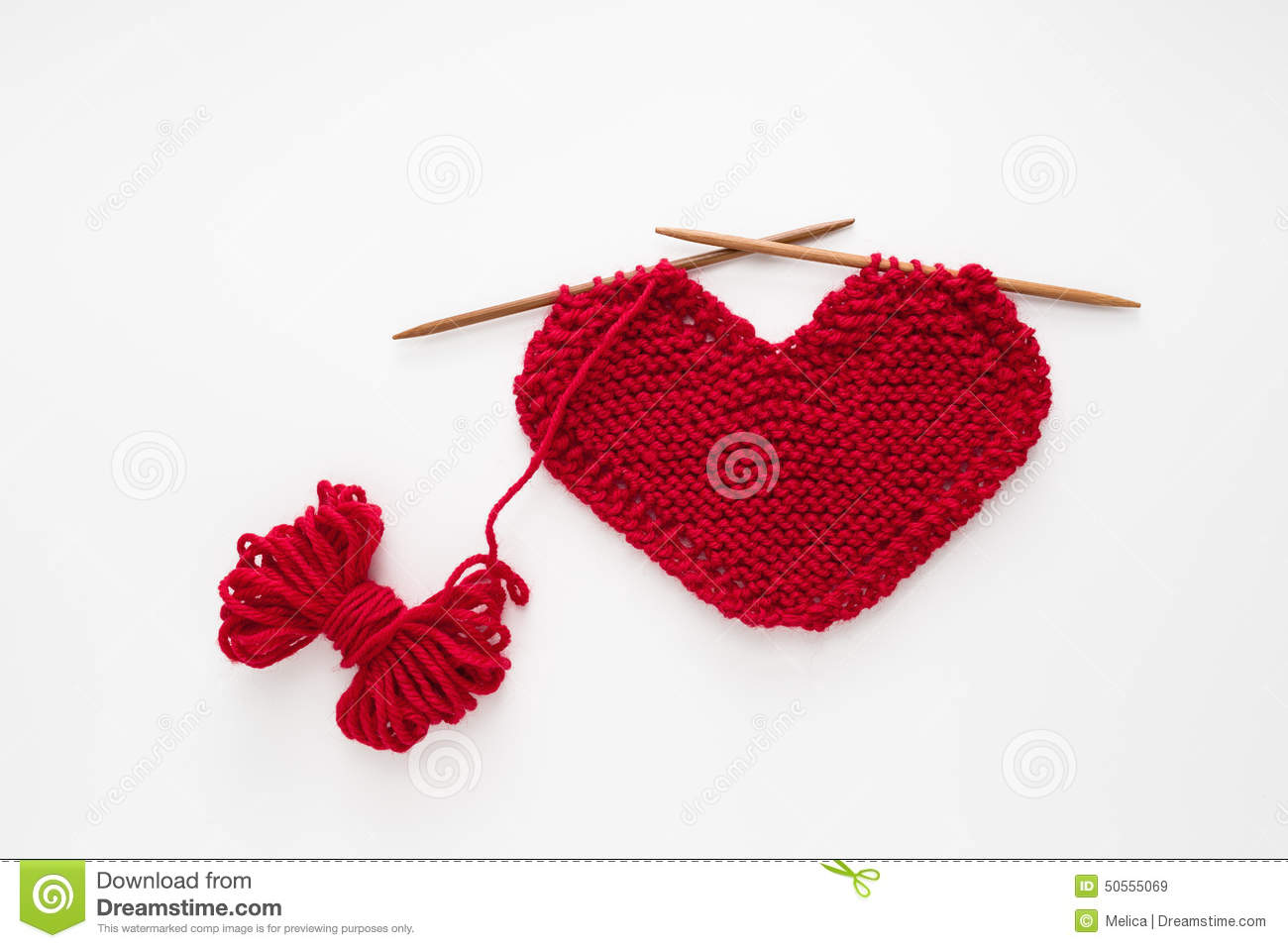 Love Knitting Stock Photo - Image: 50555069
