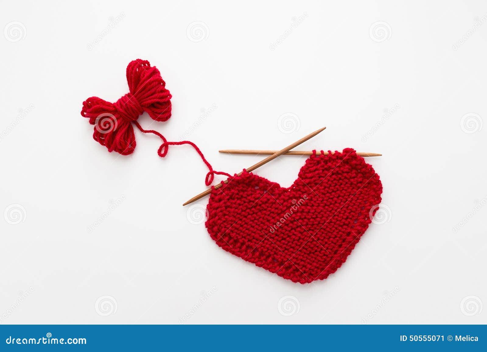 Knitting Patterns Love Knitting : Love Knitting Stock Photo - Image: 50555071