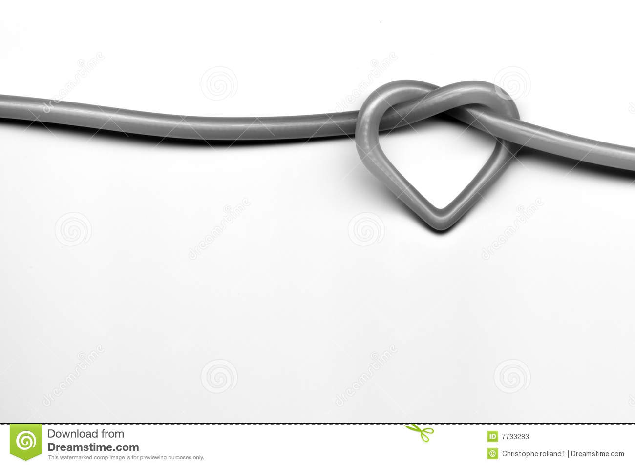 Love Knot Stock Illustration Illustration Of Love Holiday 7733283
