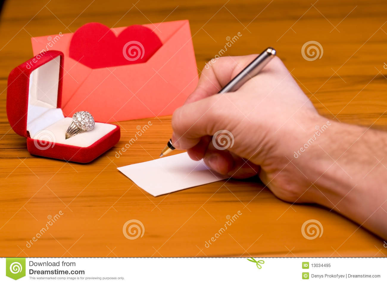 Love Letter Royalty Free Stock Photo - Image: 13034495