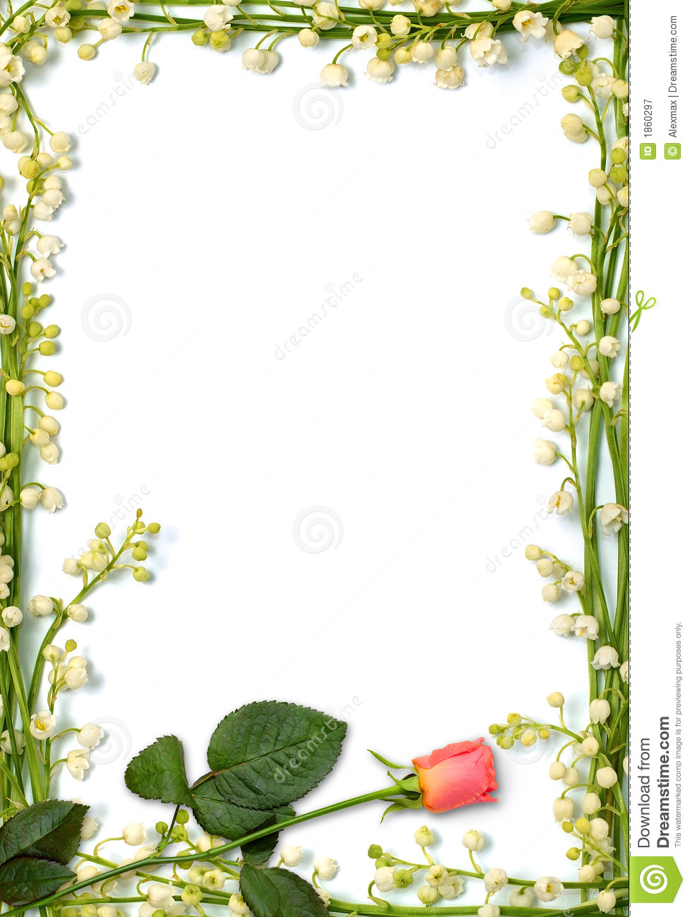 Love letter background stock image. Image of lilies, letter - 1860297