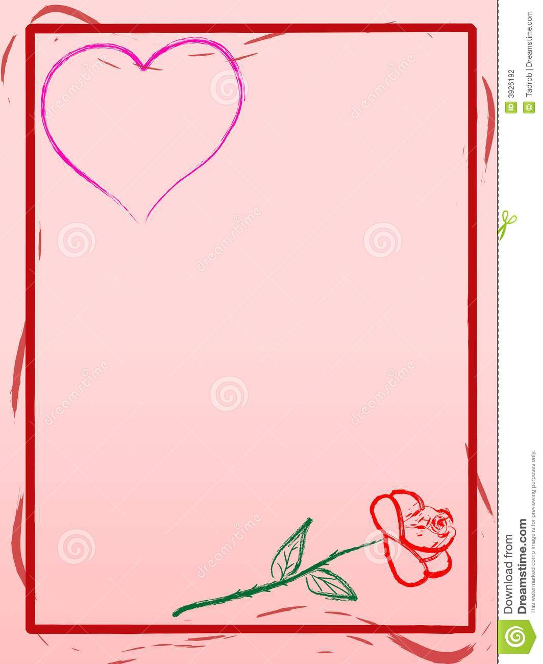 Love Letter Wallpaper Design : Love Letter Background Stock Photography - Image: 3926192