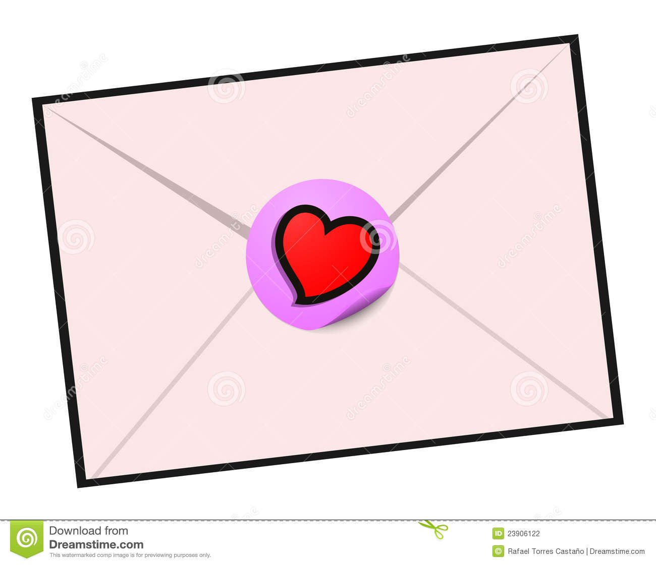 Love Letter Design Stock Photography - Image: 23906122