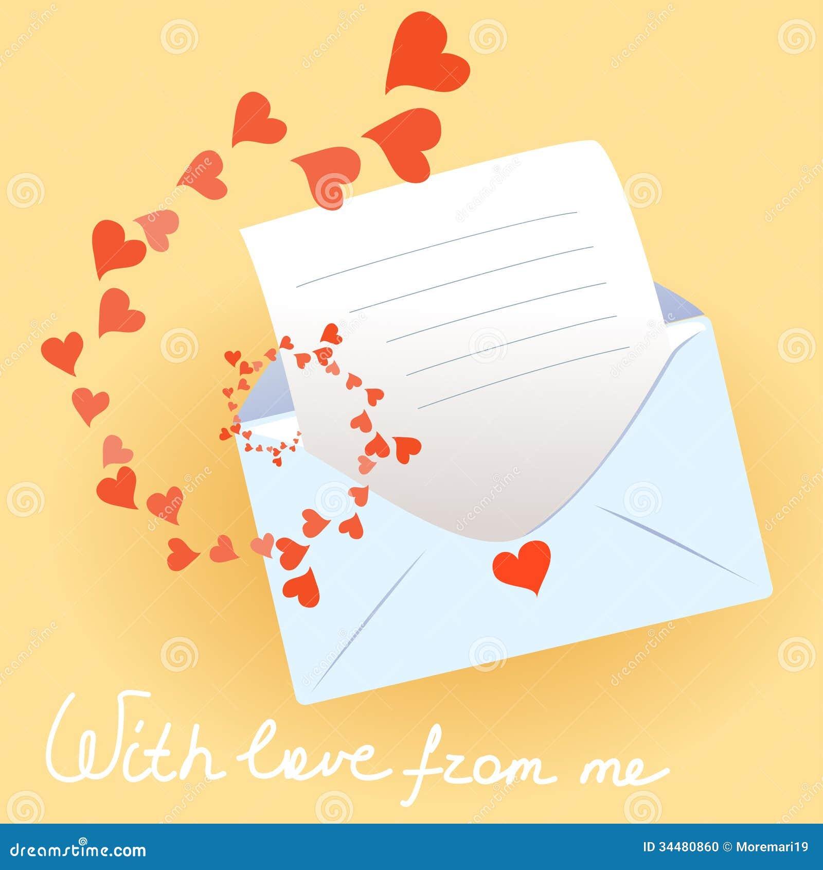 Love Letter Message Photo Frame