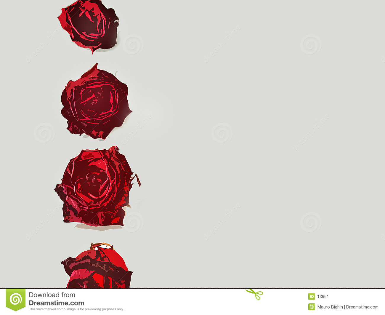 Love letters - rose border