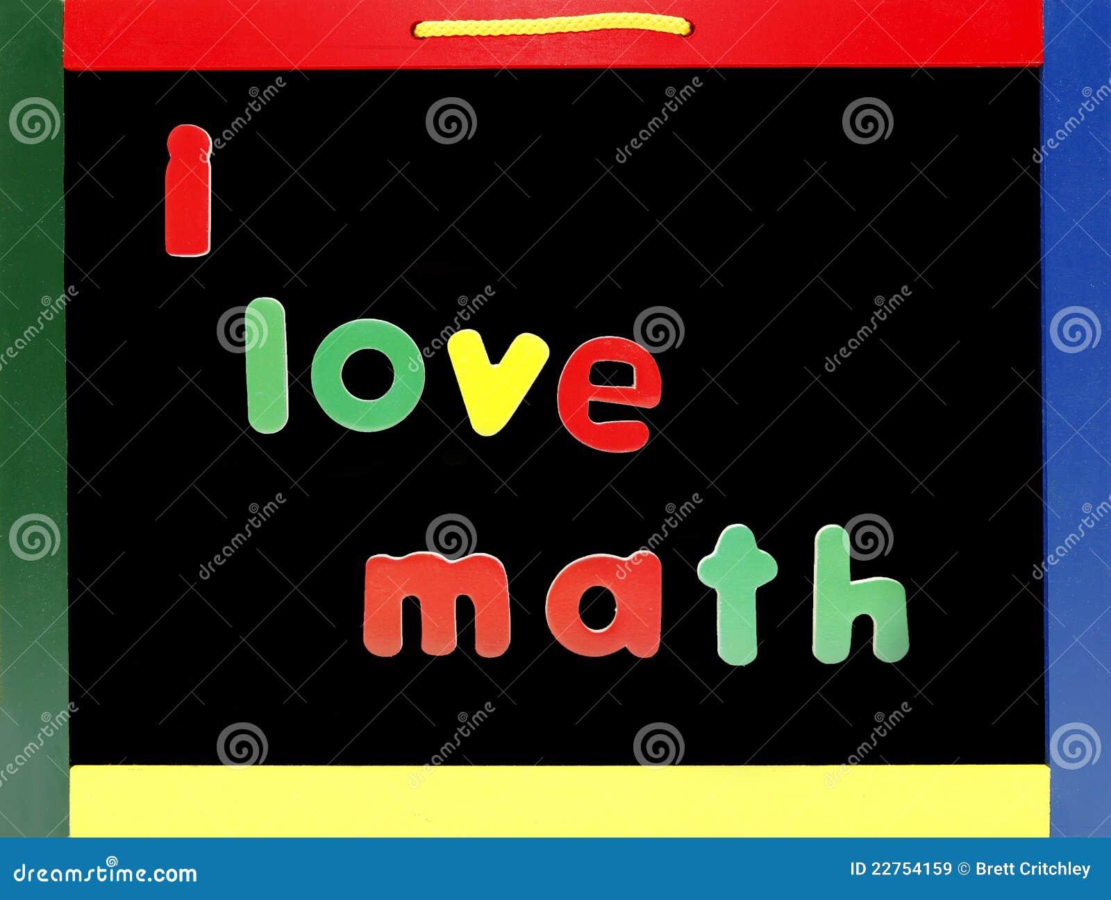 love math chalkboard stock image. image of mathematics - 22754159