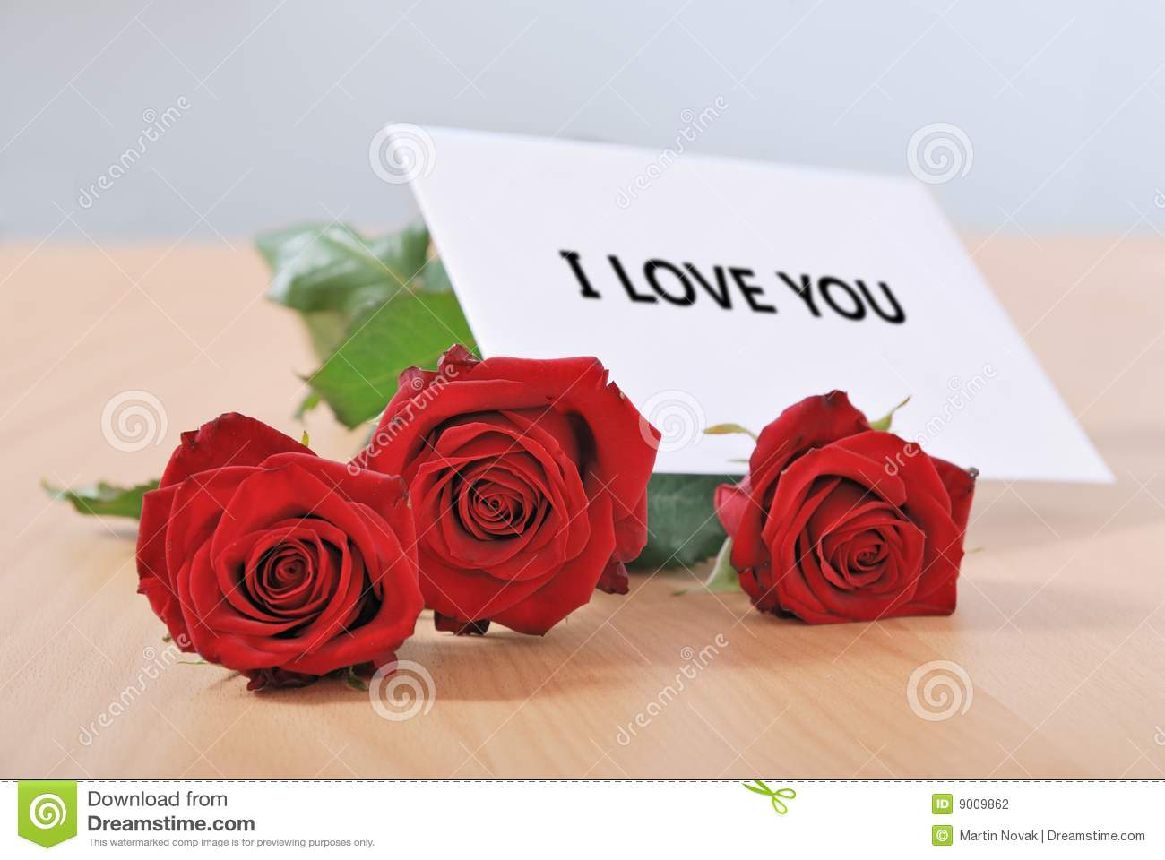 Love message on table stock photo  Image of greeting, decoration