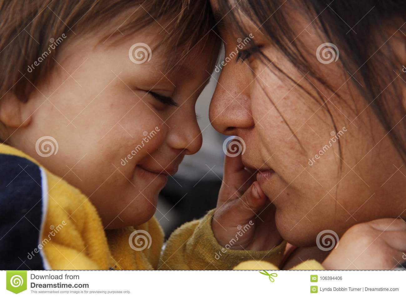 Love between mother and child