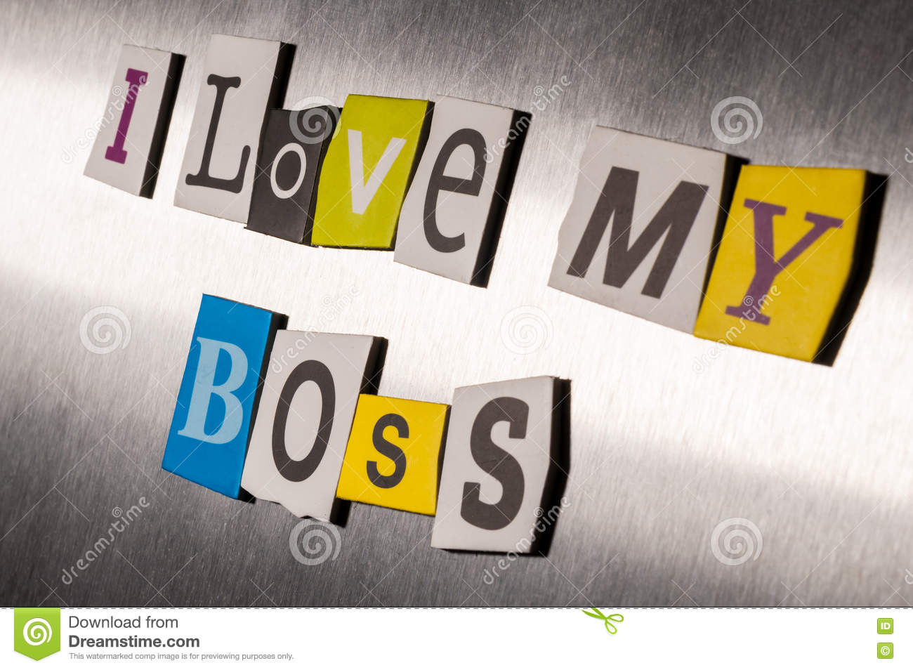 Royalty Free Stock Photo Download Love My Boss