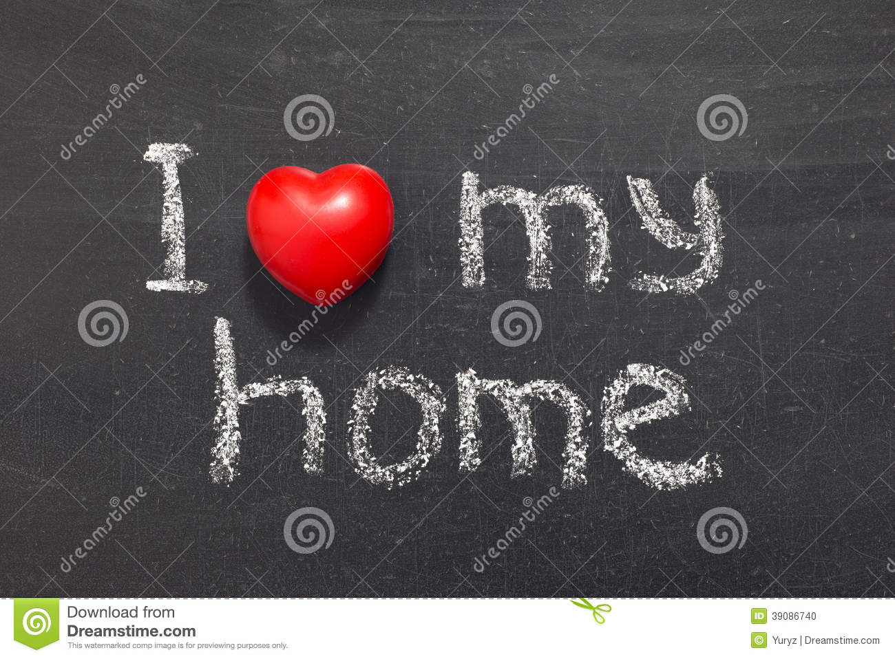 Love my home stock photo image 39086740 for Lovers home