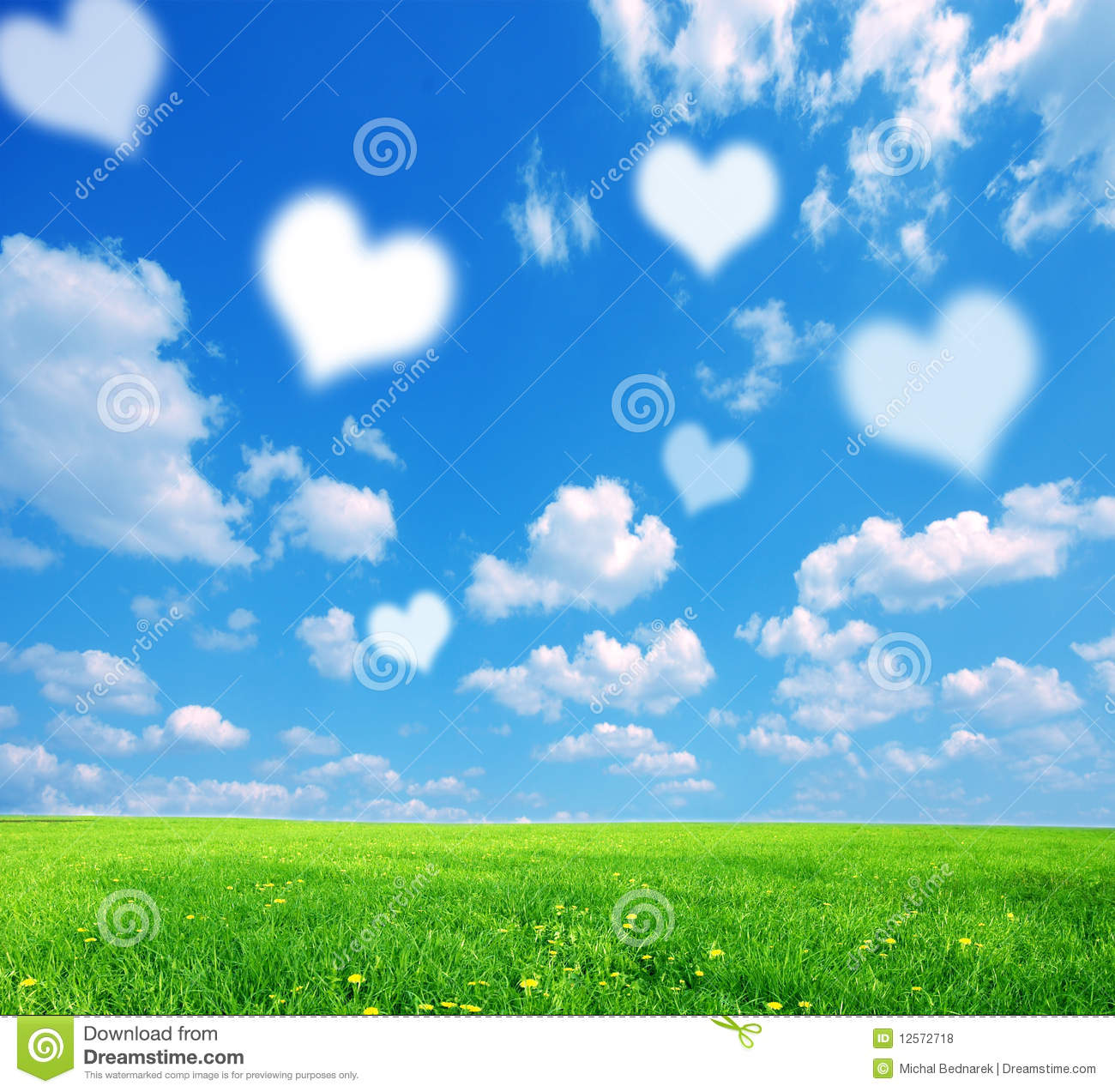 Love Nature Background Stock Photo Image Of Clean