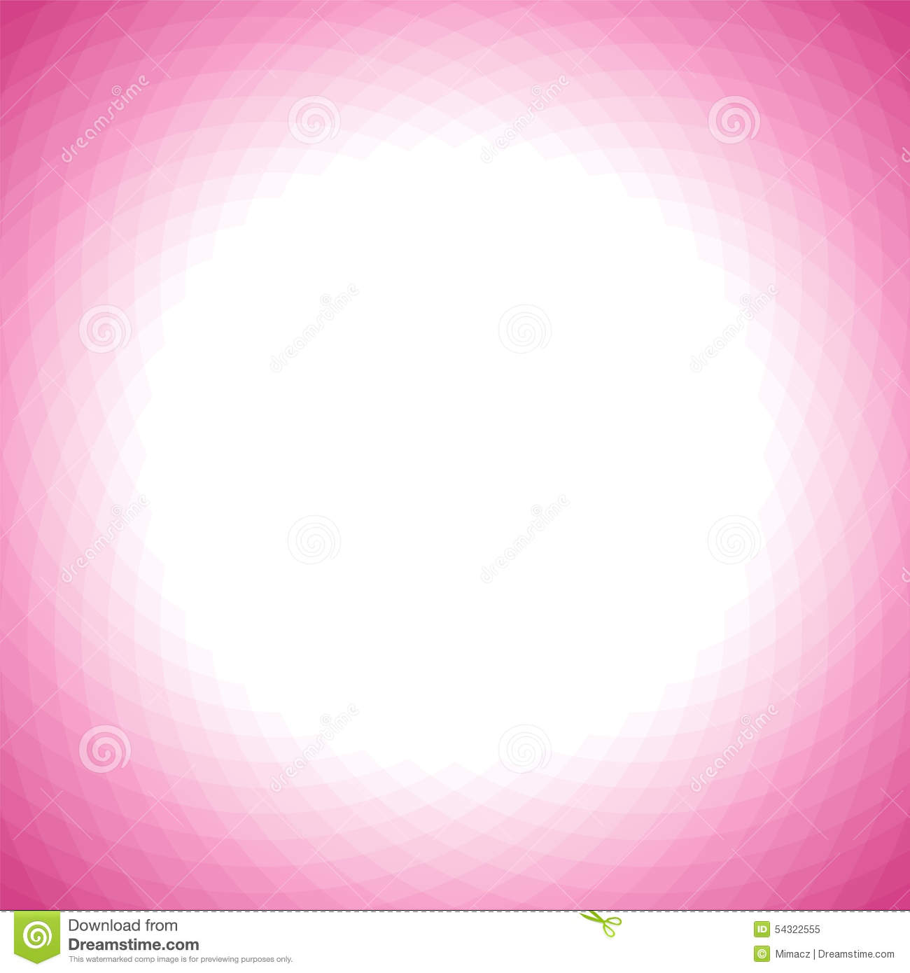 Background image center - Love Pink Geometric Background With White Center