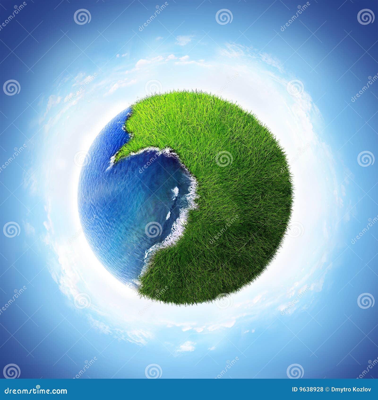 Love Planet Stock Illustration Image Of Ball Spot Ocean